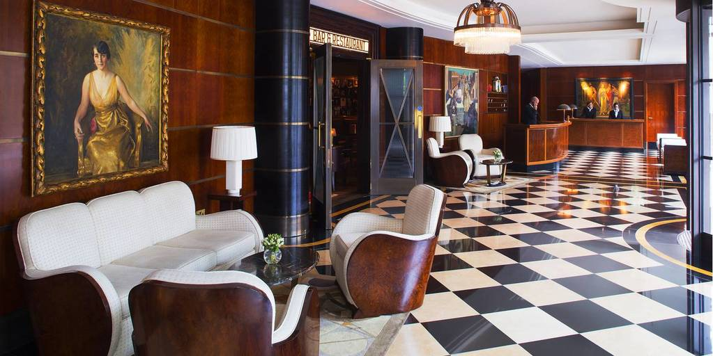 The Lobby of The Beaumont - London Luxury Hotel